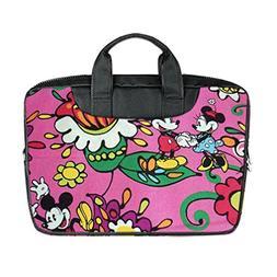 JIUDUIDODO Custom Flowers Nylon Waterproof Bag Computer Bag