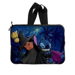 "JIUDUIDODO Custom Lilo & Stitch Neoprene Laptop Sleeve 15"" L"