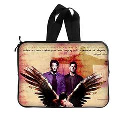 "JIUDUIDODO Custom Supernatural Neoprene Laptop Sleeve 10"" La"
