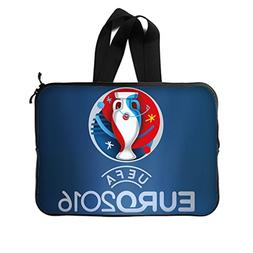 JIUDUIDODO Custom UEFA Europe France 2016 Neoprene Laptop Sl