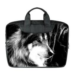 JIUDUIDODO Fashion Wolf Custom Nylon Waterproof Bag for Lapt