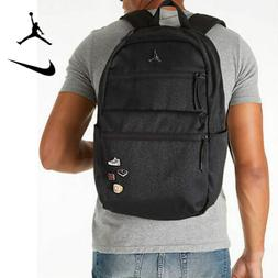 Nike JORDAN PIN BACKPACK Elephant Print - Black School Bag w