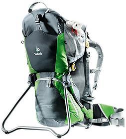 Deuter Kid Comfort Air Child Carrier for Hiking, Granite/Eme