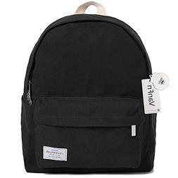 VanFn Kids' Backpacks, Canvas Laptop Backpack, Classic Backp