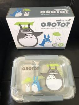 ea88153ed9a4 Kids Bento Lunch Box Totoro Gray Stainle...