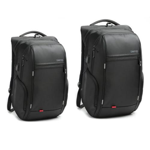 Waterproof Laptop Notebook Black Backpack +USB Charge Comput