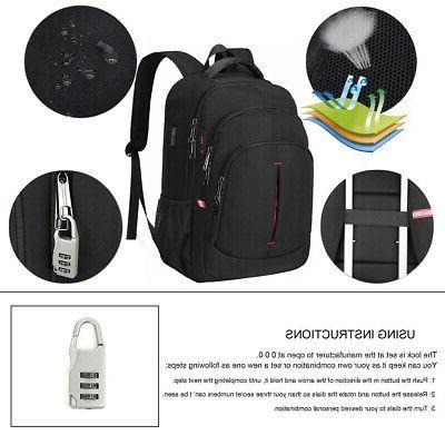 15.6/17.3 Laptop Backpack Anti Waterproof Travel Bag