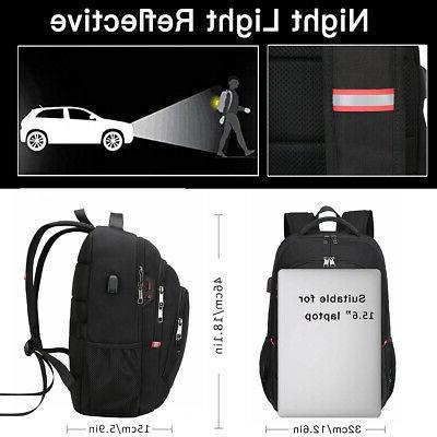15.6/17.3 inch Laptop Backpack Anti Theft Waterproof Travel Bag