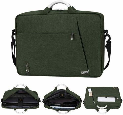 15.6'' Men's Laptop Briefcase Computer Bag Business Messenge