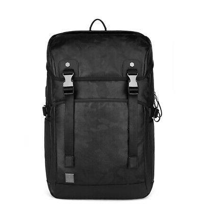 Men USB School Shoulder Bag