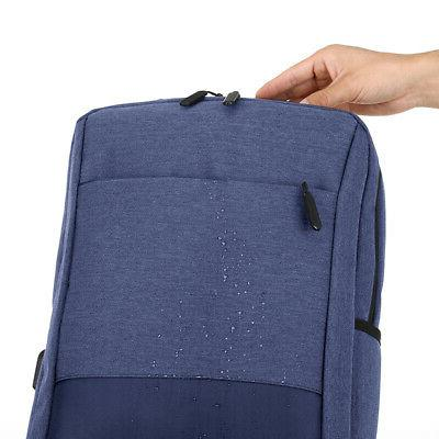 "15.6"" USB Business Travel School Bag"