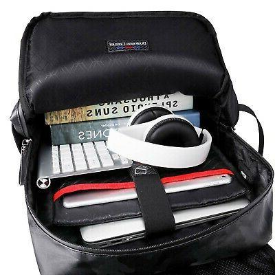 Men 15.6 inch USB School Computer Bag