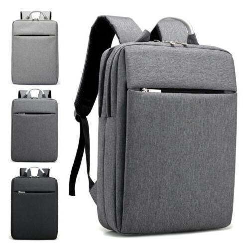 "15.6"" Men Waterproof Laptop Backpack Business School Rucksac"