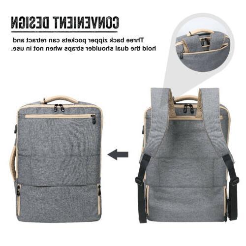 "15.6"" Laptop Backpack Travel Messenger School"