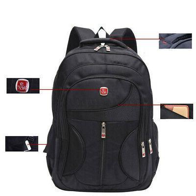 15.6'' Men Laptop Waterproof Bag Satchel Bookbag