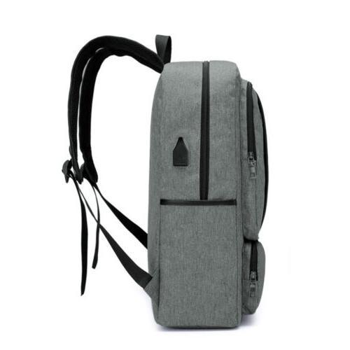 """15.6"""" Laptop Backpack Business Travel Bag USB Port"""