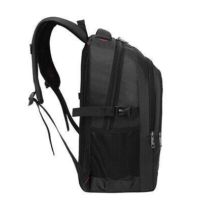 15.6'' Mens Oxford Satchel Laptop Travel Hiking Rucksack