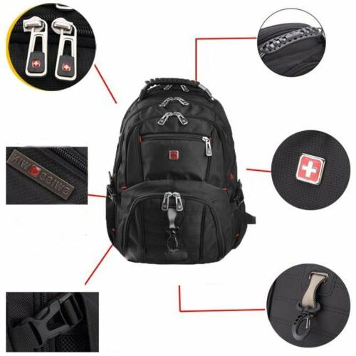Swiss Bag Backpack Notebook School Bag