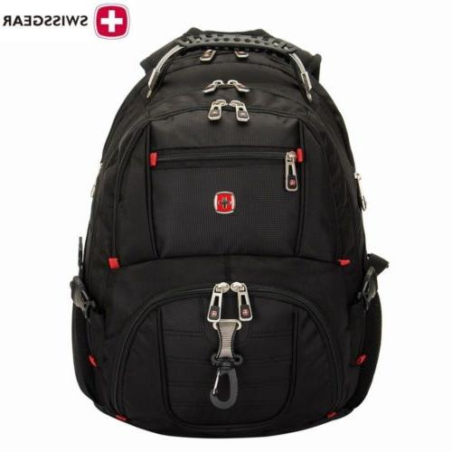 Swiss Waterproof Bag Laptop Backpack Computer Notebook Bag US