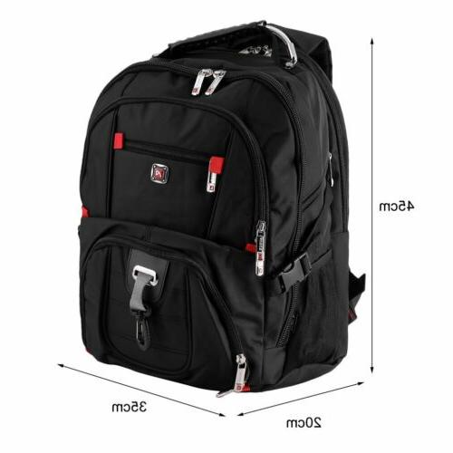 "15.6"" Swiss Gear Laptop Travel Macbook Hike Backpack"