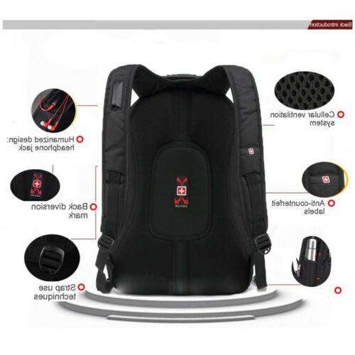 """15.6"""" Waterproof Laptop Travel Bag Hike Backpack"""