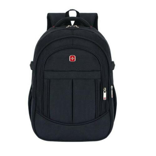 "15.6"" Travel Laptop Swiss Notebook Backpack School Bag"