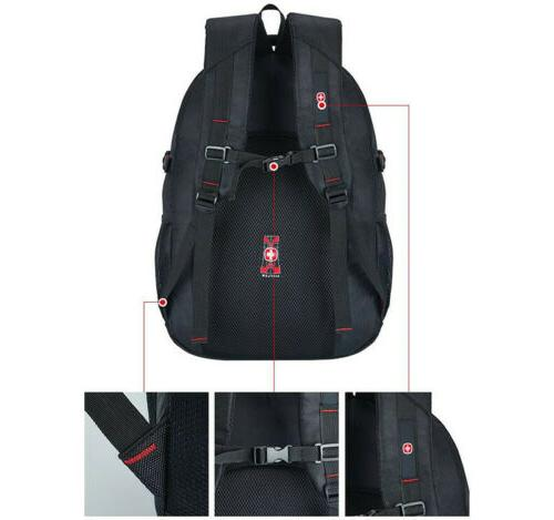 "15.6"" Travel Laptop Swiss Notebook Backpack School"