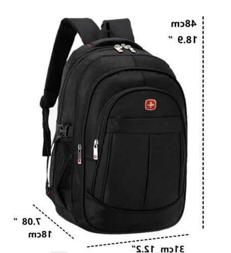 "15.6"" Laptop Swiss Notebook Backpack School"