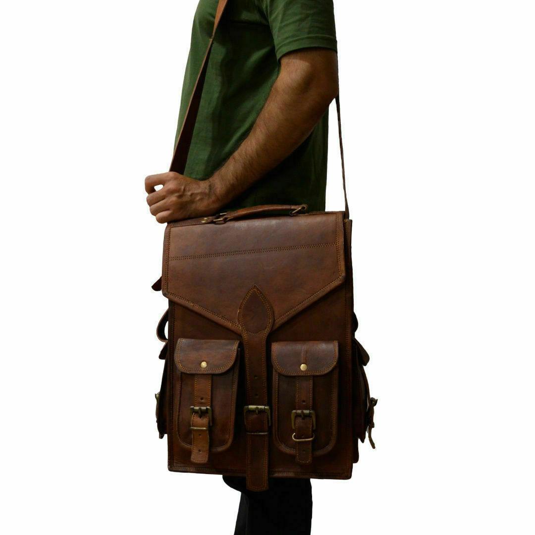 """15"""" Leather Laptop Bag Bag.."""