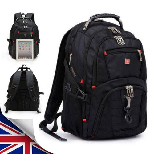 15 usb laptop backpack notebook travel rucksack