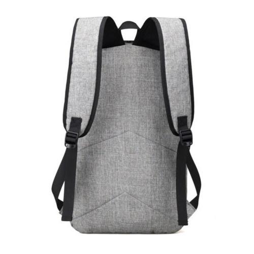 Mens Anti-Theft Bag Charging Laptop Book Bag