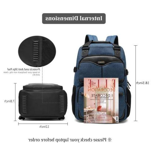17~17.3 Laptop Backpack Anti-Theft Business for Men