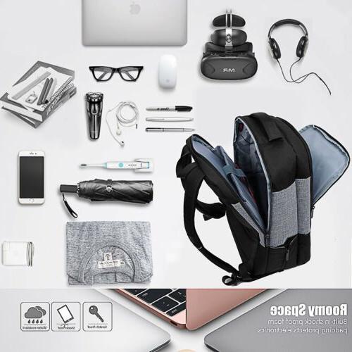 17~17.3 Laptop Bookbag w/USB Hiking