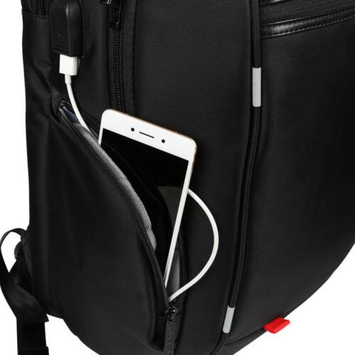 Waterproof 17.3 inch Backpack USB Charge Large Bag