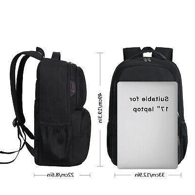 Large Laptop Backpack Waterproof Shoulder Bag