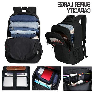 15.6/17.3 inch Anti USB Travel School Bag