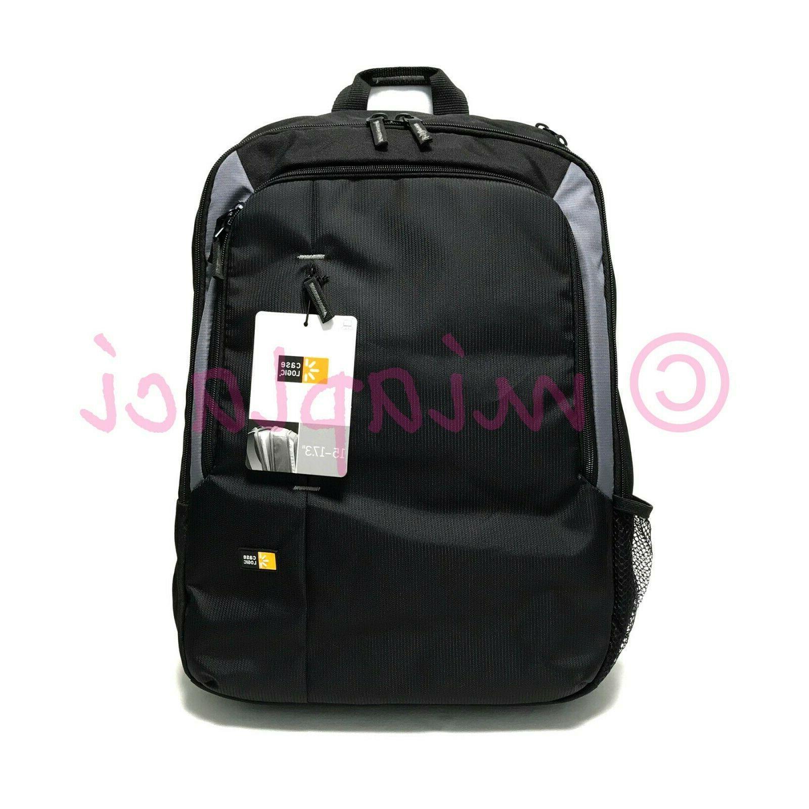 17 black notebook backpack