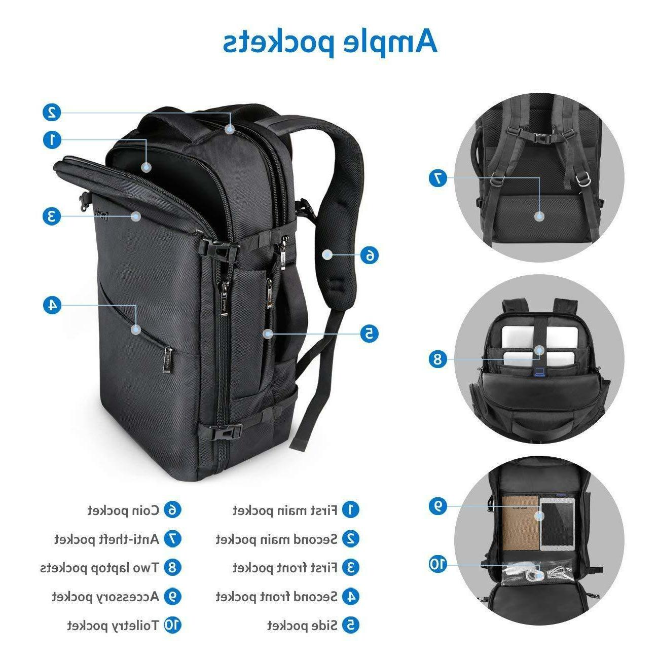 Inateck 40L Flight Approved Backpack 17''