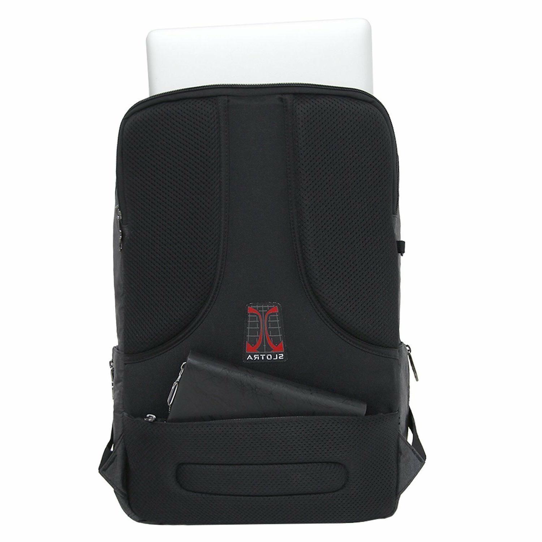 17 Inch Business Travel Rucksack School Bag Gray