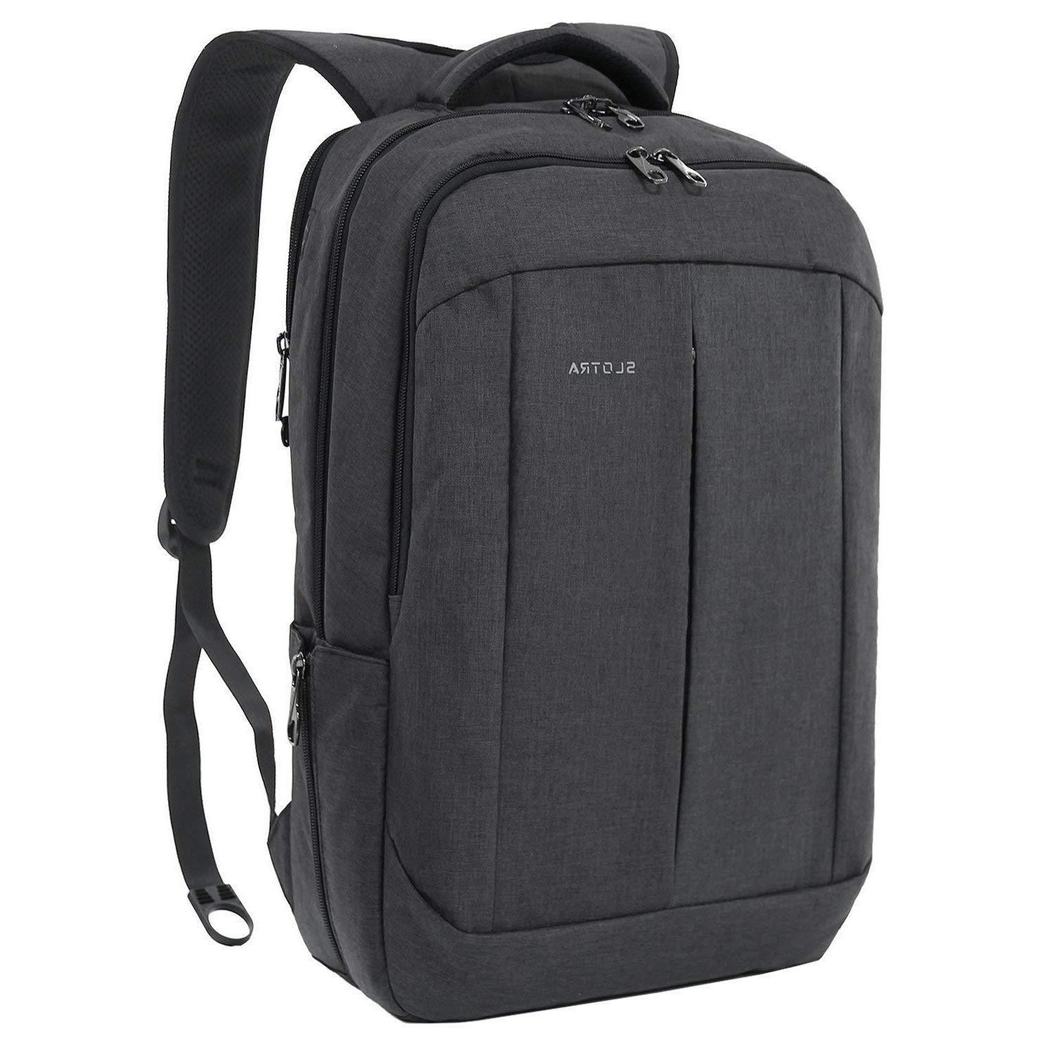 17 inch laptop backpack business travel rucksack