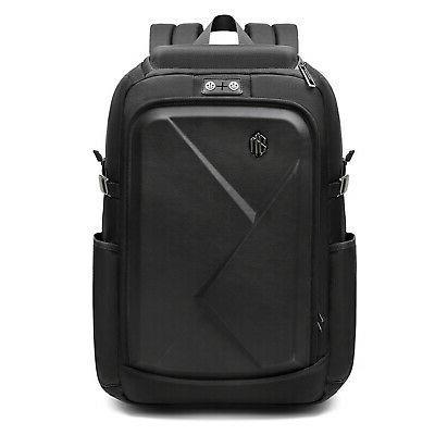 "Water Resistant  Men's 17"" Laptop Backpack Rucksack EVA sung"