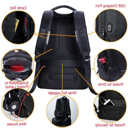 KALIDI Backpack Rucksack External for 17 Notebook