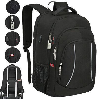 17 laptop backpack extra large anti theft