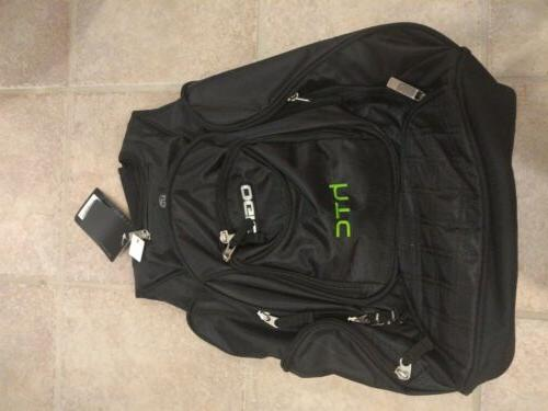 "OGIO 17"" laptop Backpack audio"
