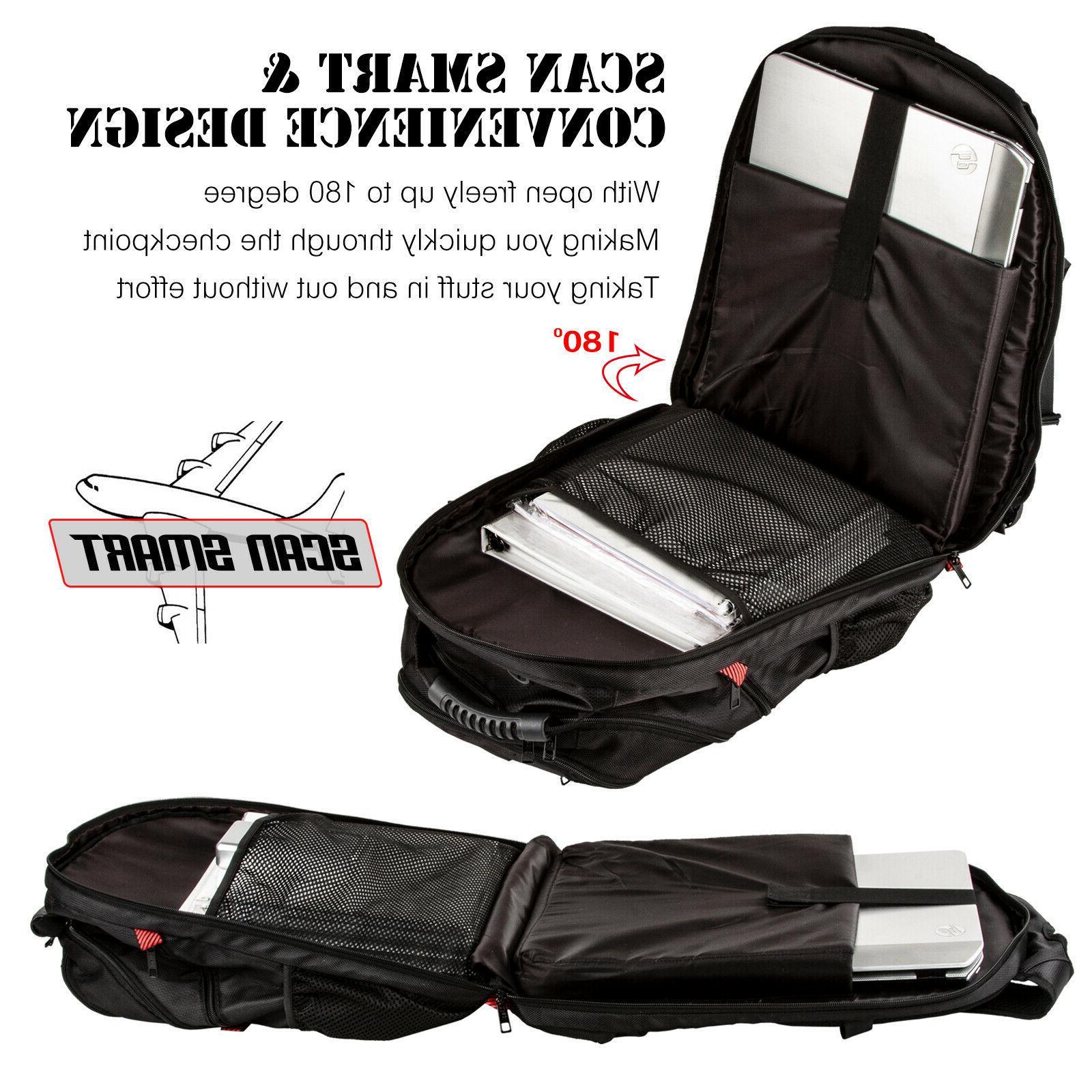 "Extra Large TSA Durable Travel Anti-Theft 17"" Laptop"