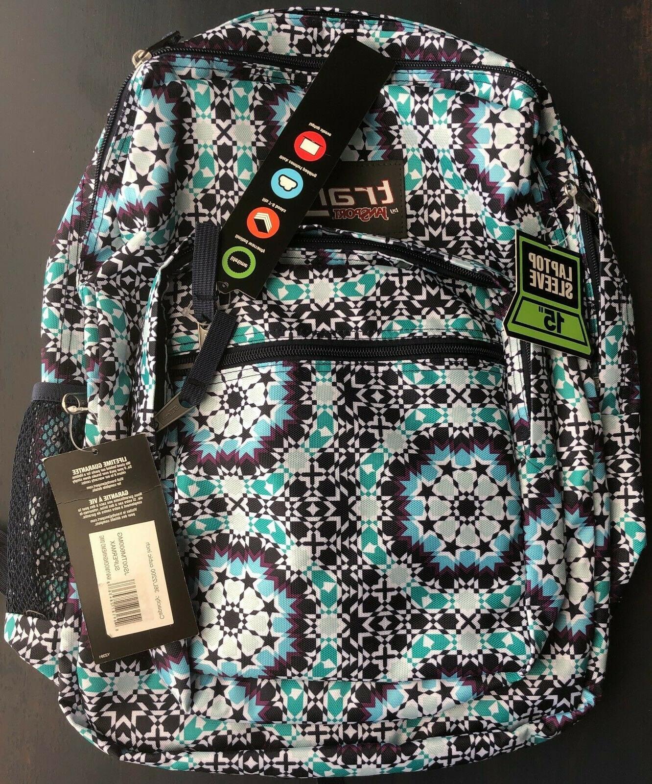 17 supermax backpack navy blue moonshine 15