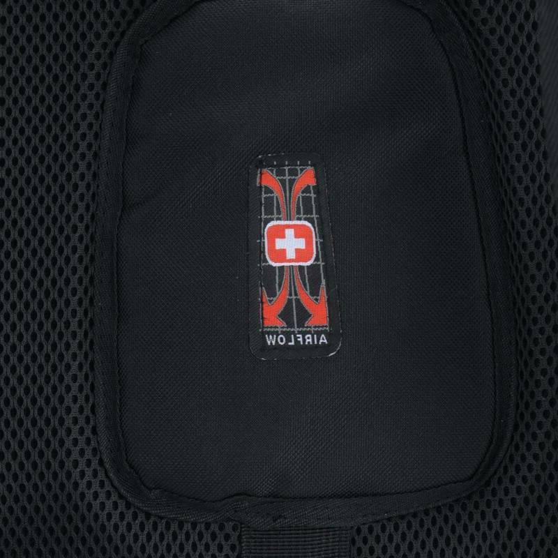 17''Swiss Multifunctional Backpack Trip Waterproof Charge Bag
