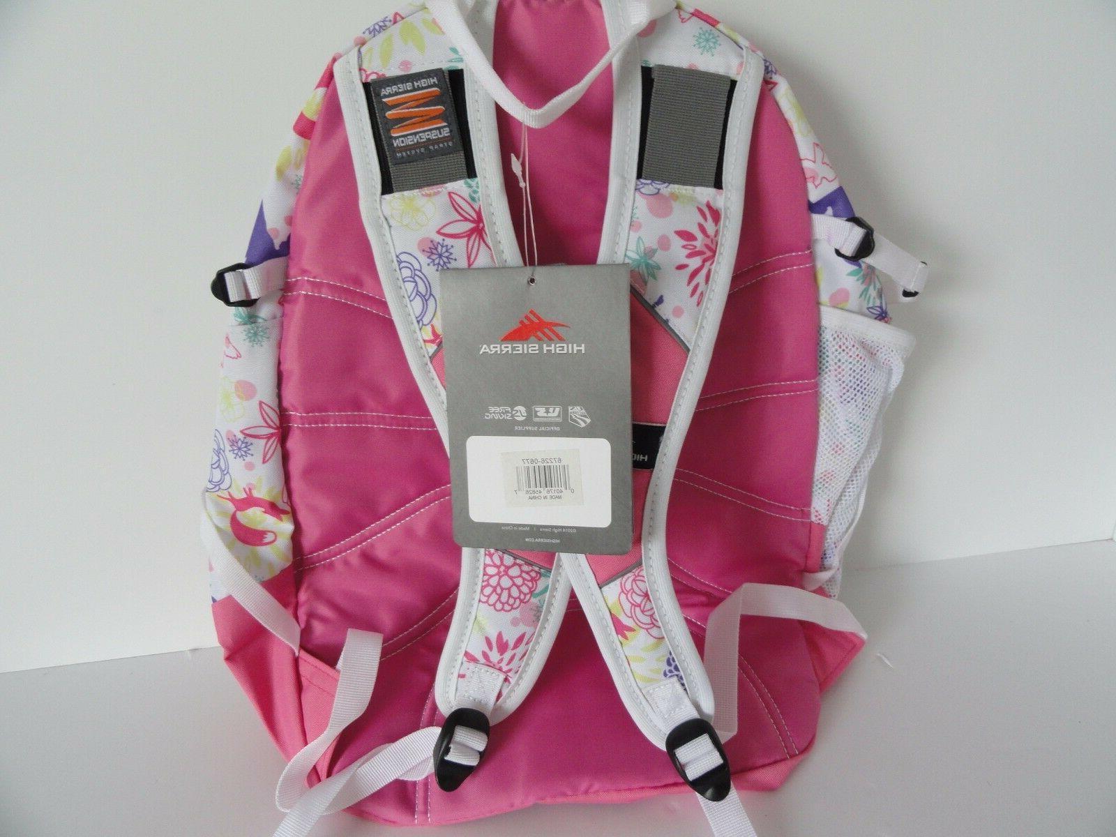 High Sierra BOY Laptop Backpack: PINK LEMONADE