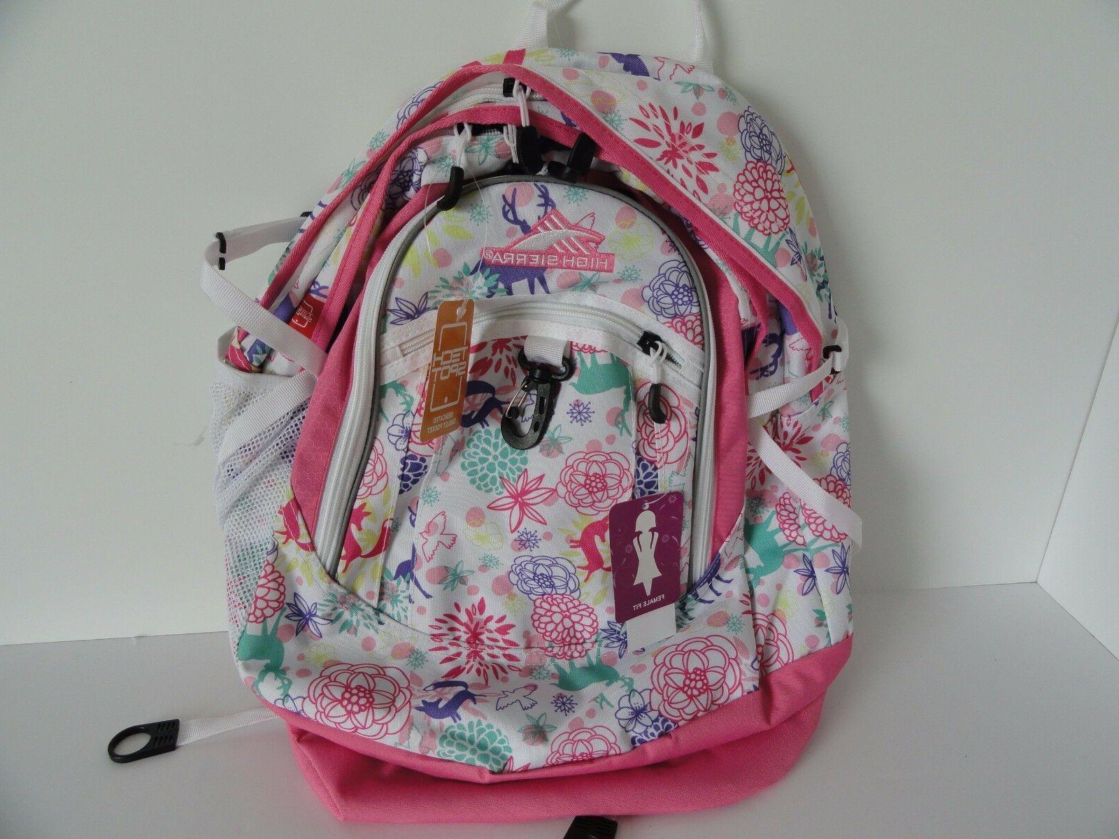 19 fat boy laptop backpack wonderland pink