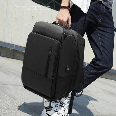 1x men nylon laptop backpack water repellent